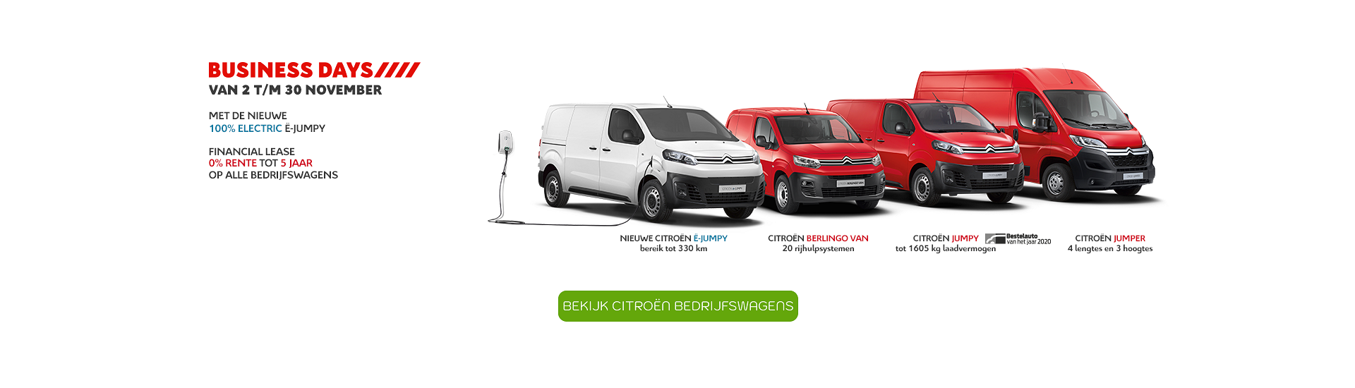 Header home Citroen Business Days 11-2020